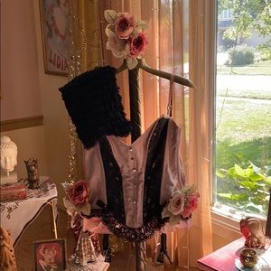 Halloween corset with bloomers
